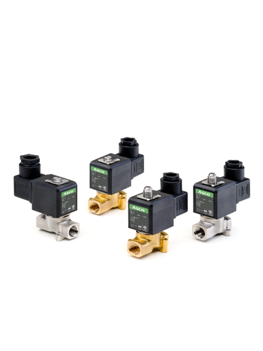 Emerson's Solenoid Valves Enable More Compact Machine Designs