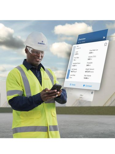 New Emerson Tank Inventory Software Application Improves Operational Efficiency